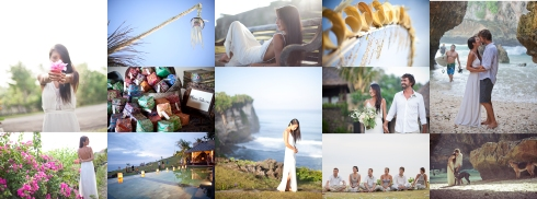 Bali Wedding collage-1